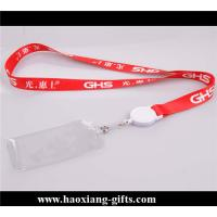 China 20*900mm customized attractive sublimation logo polyester neck strap wholesale