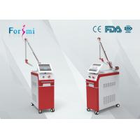 China Portable red CE approved Q-switched Nd Yag laser tatto and pigment removal machine wholesale