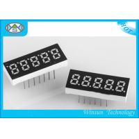 China 0.23 Inch Height LED 7 Segment Display 5 Digit For Communication / Instruments wholesale