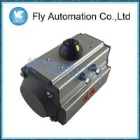 China 1/4 1/2 1 1.5 Hydraulic Double Acting Pneumatic Actuator AT83 Aluminum Body on sale