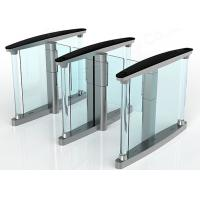Buy cheap Fingerprint Rfid Supermarket Swing Entry Turnstiles Semi Automatic from wholesalers