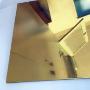 China Thickness 0.3mm Aluminium Mirror Sheet 87% Reflective Data For Lighting Industry wholesale