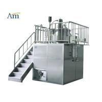 China High Shear Mixer with Mill Function 10-400 kg/batch Pharmaceutical Granulation Equipment Platform Type 25-1000L wholesale