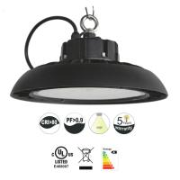 Quality Dimmable Ul Ufo Led High Bay Light 100w 13000lm 5000k / Hanging Warehouse High for sale