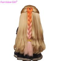 China Fashion american girl doll wigs DIY hair accessories for kids wholesale on sale