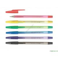 China transparent simple office ball point pen,cheap price pen wholesale