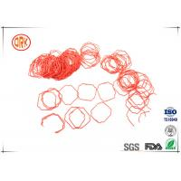 Buy cheap Small Cross Section NBR Nitrile Rubber Meter Seals Red and Black from wholesalers
