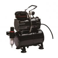 Quality 1/5HP Piston Miniature Air Compressor For Airbrush Painting With Single Cylinder for sale