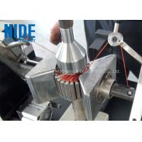 China Semi - Auto Armature Coil Winding Machine For Slot Motor Wire Winding wholesale