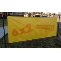 Quality High Resolution Printing PVC Vinyl Banners , Vivid custom made flags and banners for sale