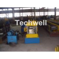 China 12-15m/min Forming Speed Box Beam Rack Roll Forming Machine for Upright Rack , Storage Shelf wholesale