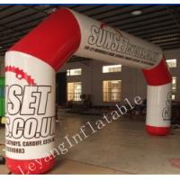 China 8x4m Inflatable Arches for Marketing / Brand Awareness wholesale