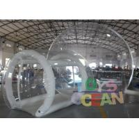 China Rental Commercial Inflatable Clear Bubble Tent For Outdoor Camping wholesale