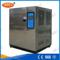 China Cold And Hot Thermal Shock Chamber , Thermal Test Chamber Water Cooling wholesale