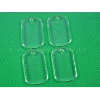 China Rectangle clear epoxy stickers wholesale