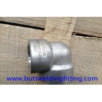 Buy cheap 90 Degree Super Duplex Stainless Steel Forged Elbow 3000LB DN25 UNS S32750 from wholesalers