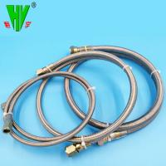 China SAE100 R14 Teflon stainless steel braided corrugated hoses wholesale