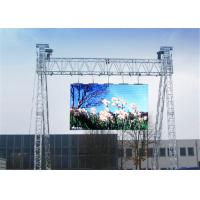 Quality Ultra Thin P10 Outdoor Full Color LED Display , LED Video Wall Panel For Stage Rental for sale