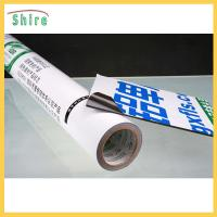 China Black and White PE Aluminum Panel Protective Film For Aluminum Plate Blue Color on sale