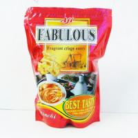 China Food Grade Zipper Plastic Bags With Logo / Beautiful Laminated Plastic Pouch on sale