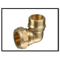 China Brass Compression Fitting of Male Elbow wholesale