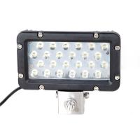 China Super Bright 24W 8 Inch Waterproof Aluminum Boat Led Work Light Marine Yacht Work Light wholesale