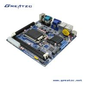 China 6 COM LGA1151 Intel H81 Chipset Motherboard , 6th Generation CPU Core i7 i5 i3 wholesale