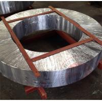 China Hydraulic Press Forged Spindle , Large Gear Ring Flange Forging ASTM standard wholesale
