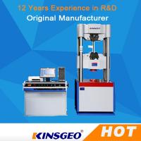 China Imported Load Cell Universal Tensile Testing Machine with Controller with Computer control wholesale