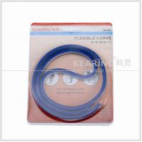 China Flexible plastic ruler 36'' / 90cm long give precise measurements on curved edges KF90 wholesale
