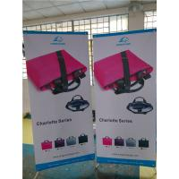 "China Adjustable X Stand Banners Pvc Film With Grommets Long Life Printed  32"" X 70"" wholesale"