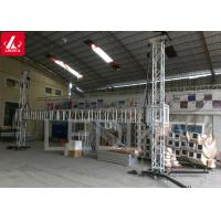China Professional 290mm Aluminum 6061-T6 Goal Post Truss Two Posts Simple And Bright wholesale