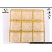 Buy cheap Cookie Cakes Chocolate Fruit Egg  PVC PP PS ABS PET Blister Inner Tray Plastic Packaging Materials for food from wholesalers