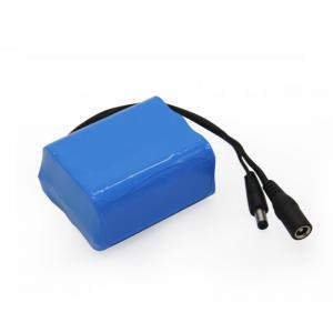 China MSDS 12V 5000mAh 18650 Battery Pack CC CV Lithium Ion Battery Pack wholesale