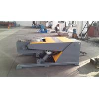 Buy cheap 3 Axis Hydraulic Lifting Welding Positioner Lifting Tilting by Hydraulic Cylinder Table Revolving VFD Change Speed from wholesalers