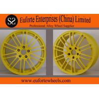 """China SS wheels-Light Weight 18"""" Red With Black Forged Wheels For Off Road Car wholesale"""