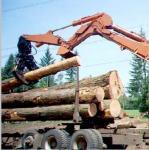China hydraulic excavator grapple, wood rotating grapple, excavator grabs wholesale