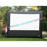 China Advertising giant Inflatable Movie Screen, outdoor projection movie screenings for disply wholesale