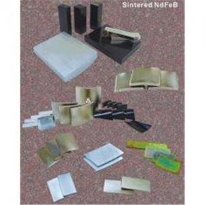 China Custom Strongest Rare Earth Sintered NdFeB Magnets Grade N52 on sale