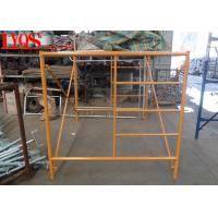 "China Mason Triple Ladder Frame Scaffolding 5'×5'7"" For Indoor Slab Supporting wholesale"