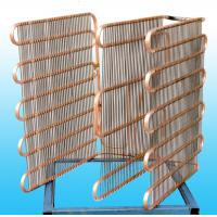 China Cold Drawn Copper Coated Freezer Evaporator Wall thickness 0.7mm wholesale
