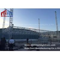 Concert Lighting Truss System , Lighting Gantry Systems Electronic Hoist