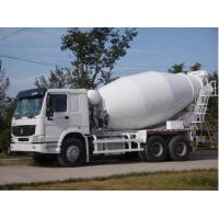 China Concrete Mixer Trailer 8 CBM Tank , Mixer Cement Truck With 300L Fuel Tank on sale