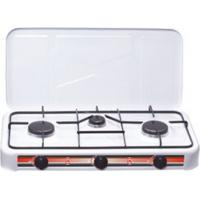China Thickness 0.4mm Manual Ignition Double Kitchen Gas Burner Stove FJ-003S wholesale