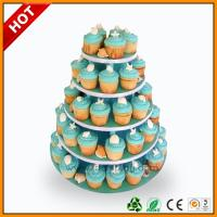 Wholesale Advertising wedding cake stand / 3 Tier Art Paper paper corrugated from china suppliers