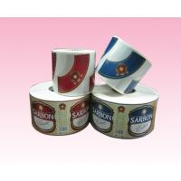 Wholesale custom printing full color paper sticker label with strong adhesive in roll manufacturer from china suppliers