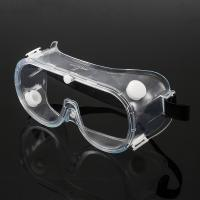 China Chemical Resistant Eye Protection Goggles , Reliable Fog Proof Safety Glasses wholesale