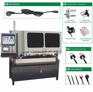China Three Pin Plug Inserting Full Automatic Crimping Machine SD - 3500A 1200KG wholesale