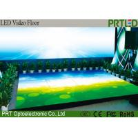 China P6.25 Full Color Display Screen LED Video Dance Floor For Stage , Events wholesale