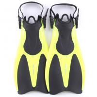 China Flexible Pocket Skin Diving Fins For Professional Snorkeling Equipment wholesale
